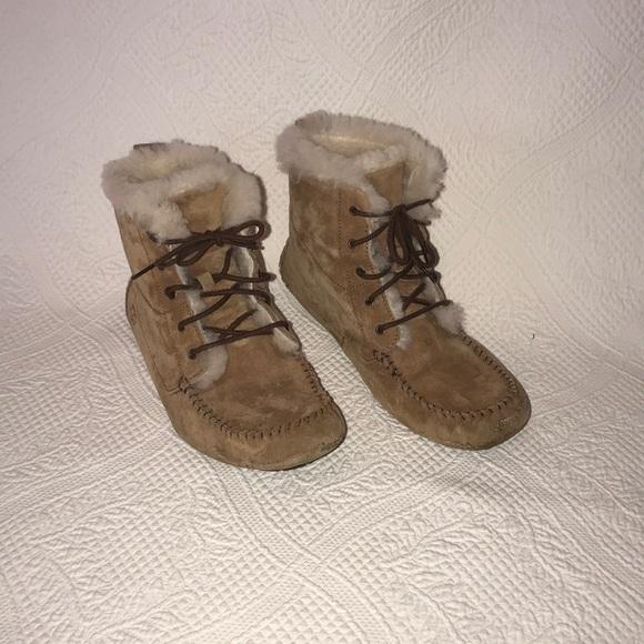 UGG Shoes | Tie Up Ugg Moccasins | Poshmark